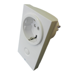 Módulo de enchufe externo POPP on/off de hasta 3,5Kw con led indicador de estado Z-Wave.