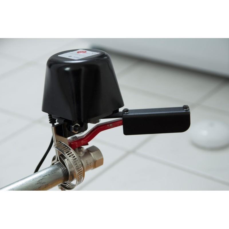 Electroválvula con motor POPP para cierre de llaves de paso anti-inundación o anti-fugas de gas Z-wave