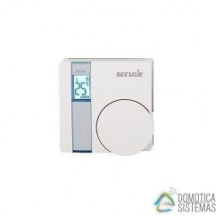 Termostato SECURE SRT323 interior con pantalla LCD y relé integrado Z-Wave