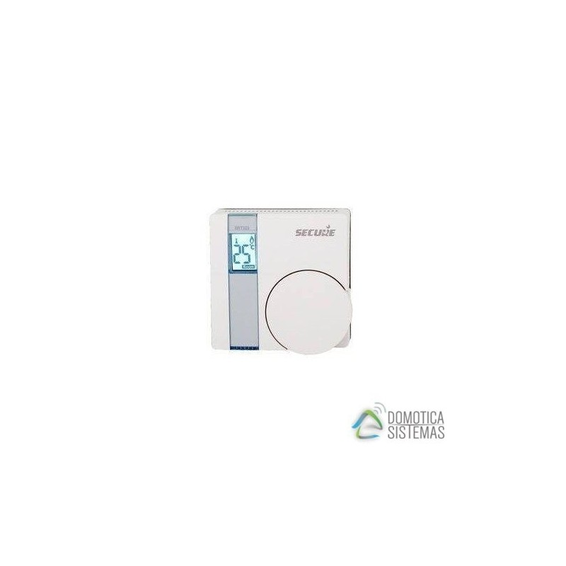 Termostato a pilas SECURE interior Z-Wave