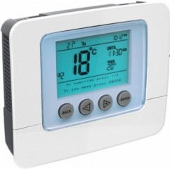 Termostato de pared SECURE SCS317 con display programable Z-Wave