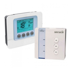 KIT termostato SECURE SCS317 y actuador SSR303 Z-Wave