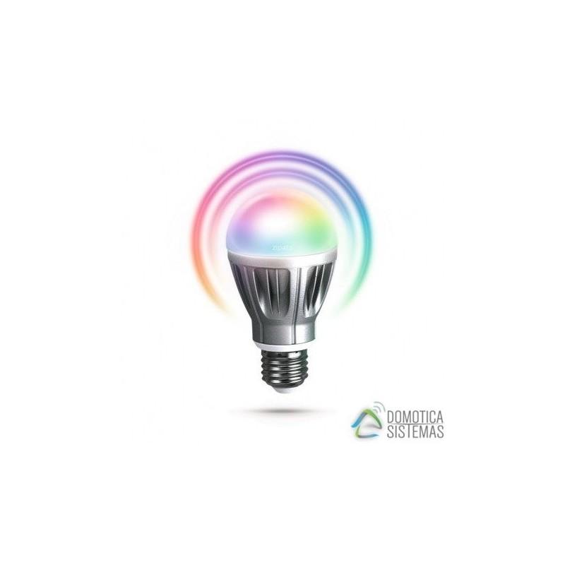 Bombilla E27 Zipato de luz blanca 6w como combinación de colores Z-wave