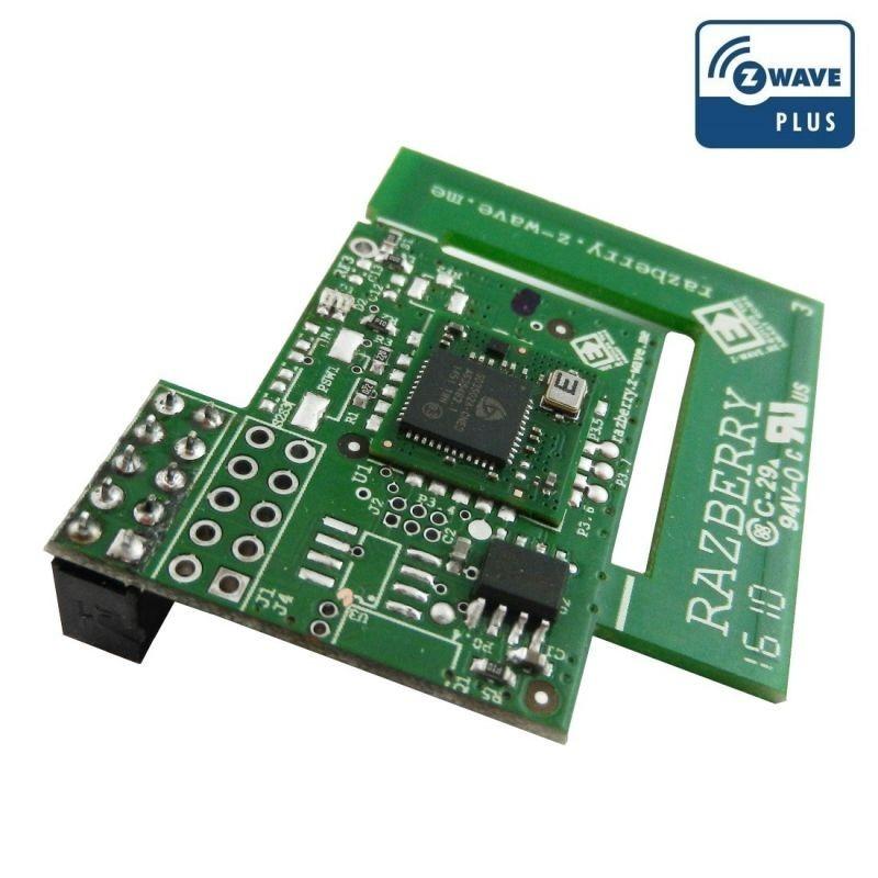 Tarjeta RaZberry 2 adaptador GPIO Z-Wave Plus para RaspberryPi de Z-Wave.ME