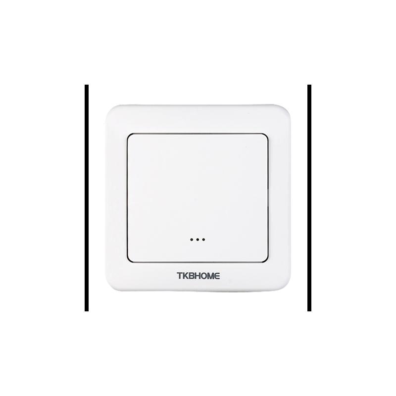 Interruptor de pared con módulo on/off integrado, una tecla Z-wave Plus