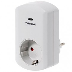 Módulo de enchufe de regulación Dimmer TKB Home Z-Wave Plus
