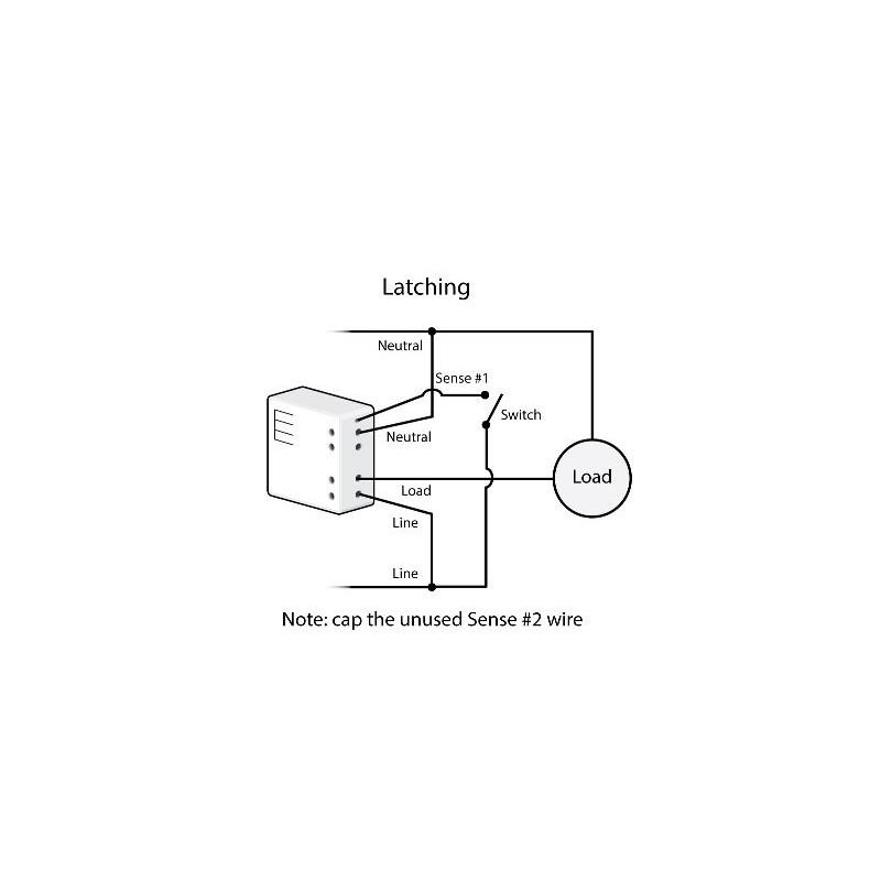 Micromódulo Insteon dimmer para regular 1 zona en instalación oculta. Micro Dimmer