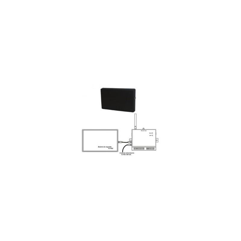 Batería accesorio de respaldo para dispositivos GSM de 12V con 800mA.