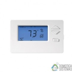 Termostato cableado Insteon con alimentación 24V AC. Wired Thermostat