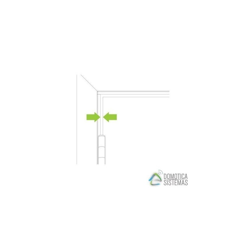 Sensor De Apertura Y Cierre Inalámbrico Empotrado Insteon. Hidden Door Sensor