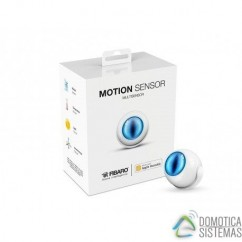 Sensor de movimiento, temperatura y luminosidad de Fibaro para HomeKit. FGBHMS-001