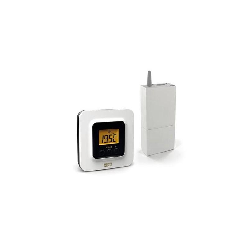 Termostato inalámbrico radio para calefacción Delta Dore. TYBOX 5100