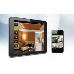Pasarela domótica multimedia y multiprotocolos Delta Dore TYDOM 3.0 con aplicación TYDOM HD.