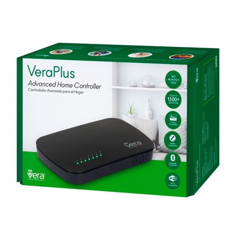Controlador VERA PLUS Smart Home Gateway Z-Wave Plus