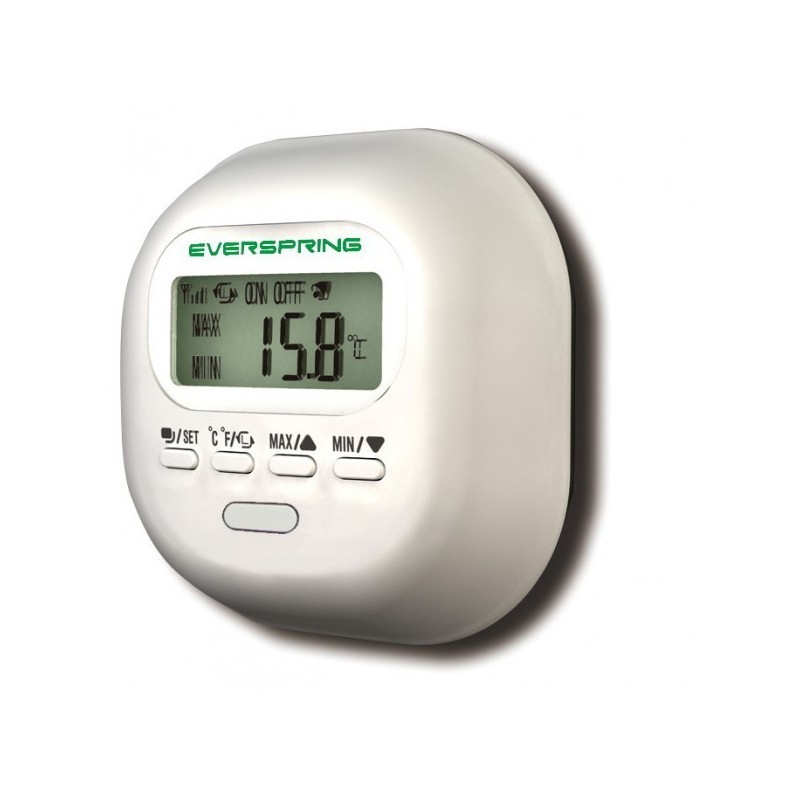 Sensor de temperatura y humedad Everspring Z-Wave