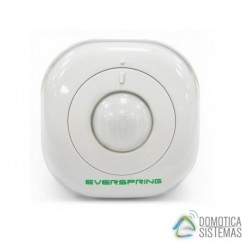 Sensor de movimiento y luminosidad Everspring Z-Wave