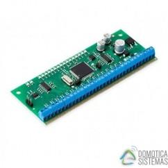 Módulo de expansión Eldes cableado con salidas programables EPGM1