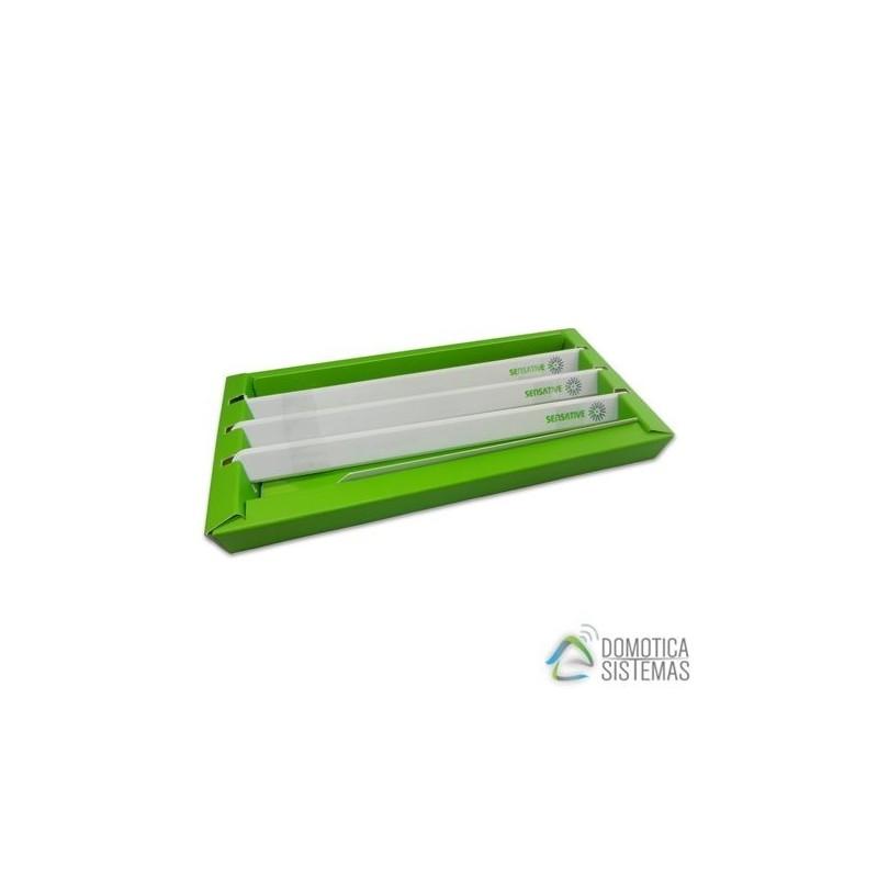 Pack 3 sensores de apertura SENSATIVE extra finos Z-Wave Plus
