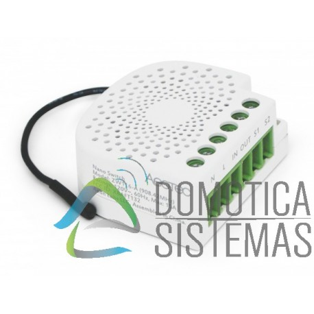 Micromódulo interruptor Aeotec Nano oculto On/Off Z-wave Plus