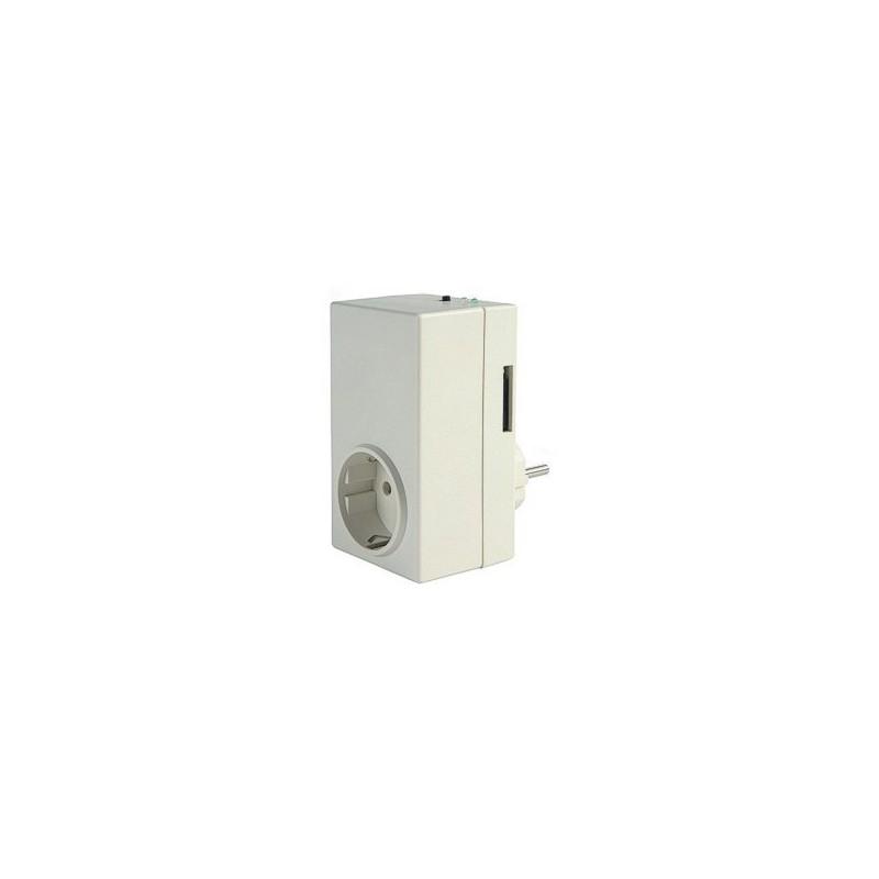 Módulo maestro de Enchufe GSM para el control telefónico de calefacción con SMS. T40