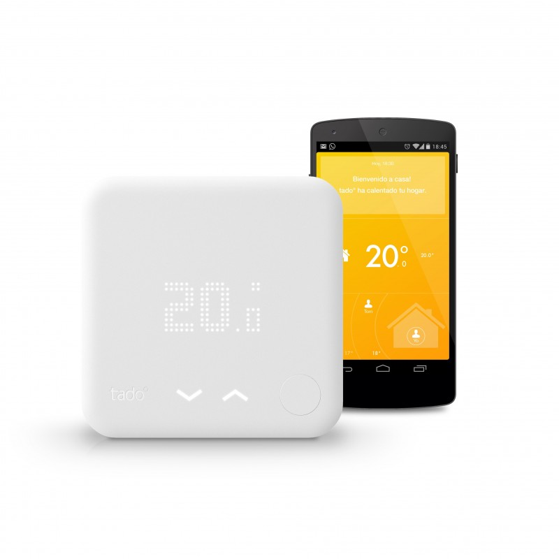 Termostato inteligente V2 para calefacción Thermostat tadoº