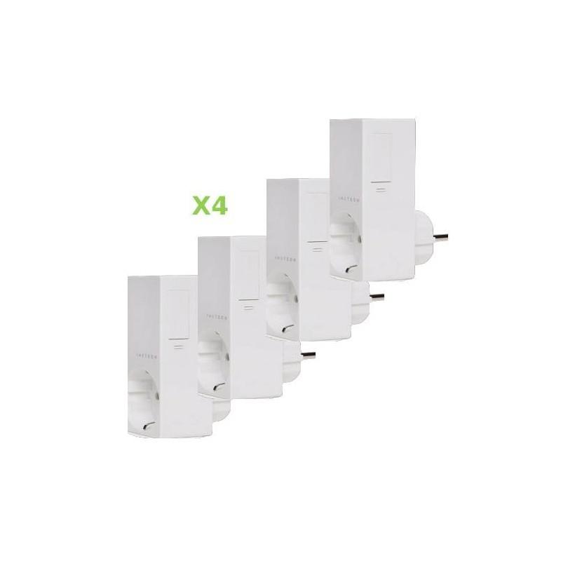 Pack 4x Insteon Módulo de enchufe para control de iluminación regulable. Plug-in dimmer