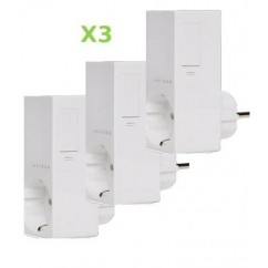 Pack 3x Insteon Módulo de enchufe para control de iluminación regulable. Plug-in dimmer
