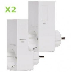 Pack 2x Insteon Módulo de enchufe on-off para control de Aparato. Plug-in Relay