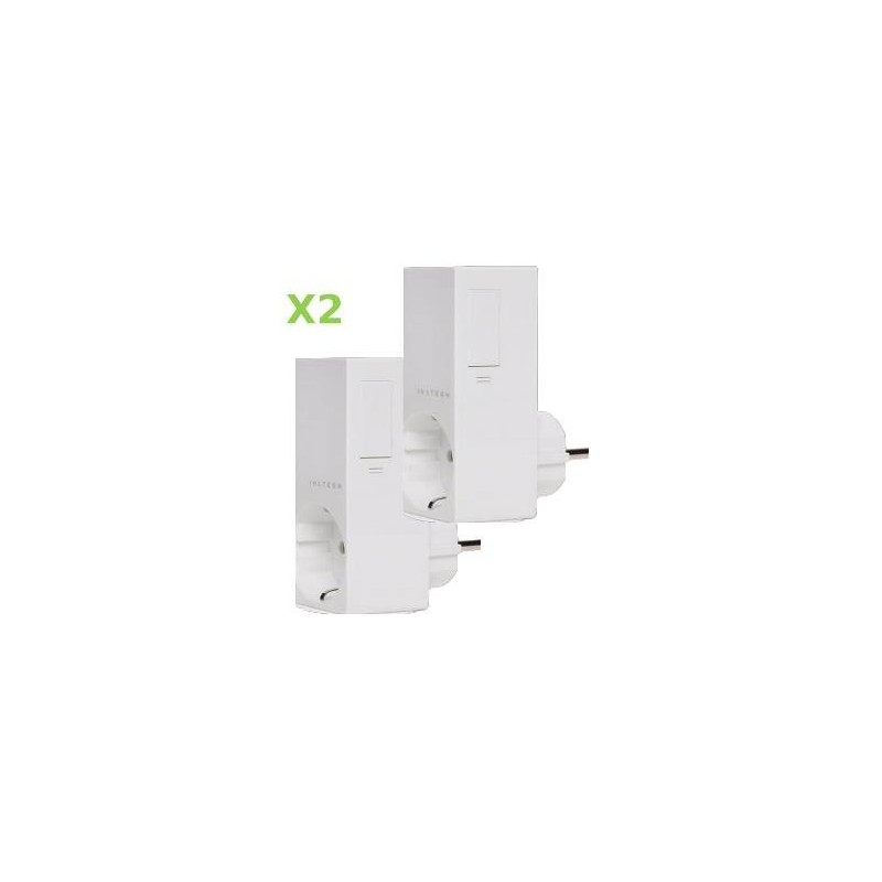 Pack 2x Insteon Módulo de enchufe para control de iluminación regulable. Plug-in dimmer