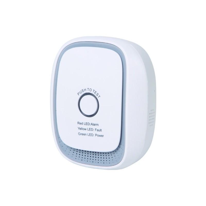 Sensor de Gas (GLP) ZIPATO de tecnología Z-Wave Plus. HS1CG-Z