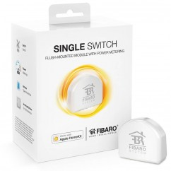Micromódulo interruptor relé ON/OFF oculto Homekit de Fibaro Single Switch.FGBHS-213