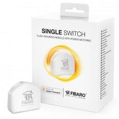 Micromódulo interruptor relé ON/OFF oculto Homekit de Fibaro Single Switch.FGBHS-213