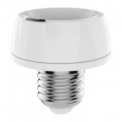 Soporte de casquillo domótico de lámpara dimmer Z-Wave Philio. PAD02E27
