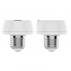 Soporte de casquillo domótico de lámpara E27 100W Everspring Z-Wave