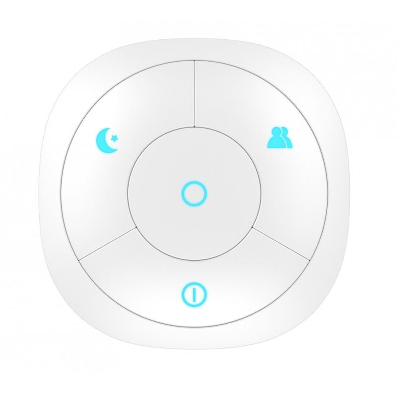 Controlador de escena Z-Wave Plus HANK de 4 botones