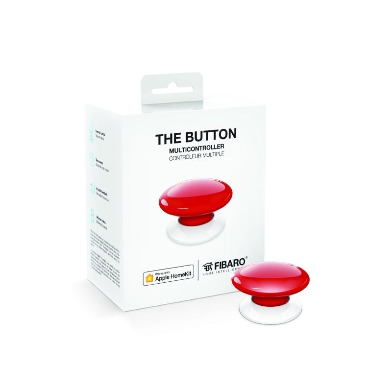 Botón de acción rojo de Fibaro HomeKit The Button Red