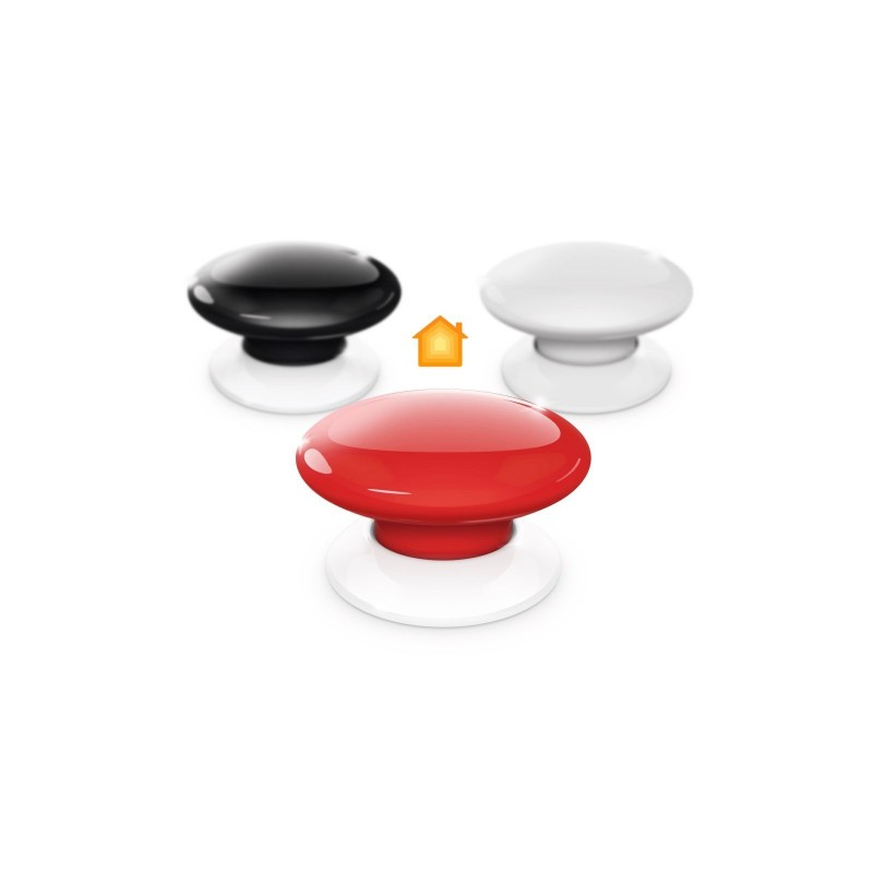 Botón de acción negro de Fibaro HomeKit The Button Black