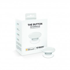Botón de acción blanco de Fibaro HomeKit The Button White