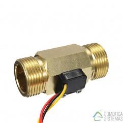 Medidor de caudal GreenIQ para tuberías de 3/4 de pulgada