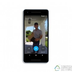 Videoportero wifi Nest Hello controlable con el móvil