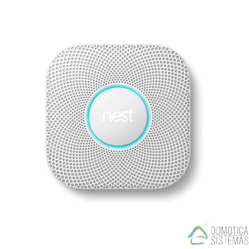 Sensor de alarma antihumo y de CO Nest Protect
