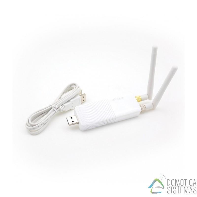 Interfaz RFXtrx433E USB con receptor y emisor de 433.92MHz para multiples equipos (Somfy,RTS,,X10...)