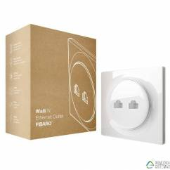 Walli N Ethernet Outlet FIBARO