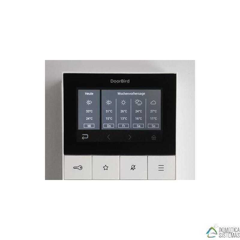Monitor DoorBird A1101 de Interior para Vídeoportero IP