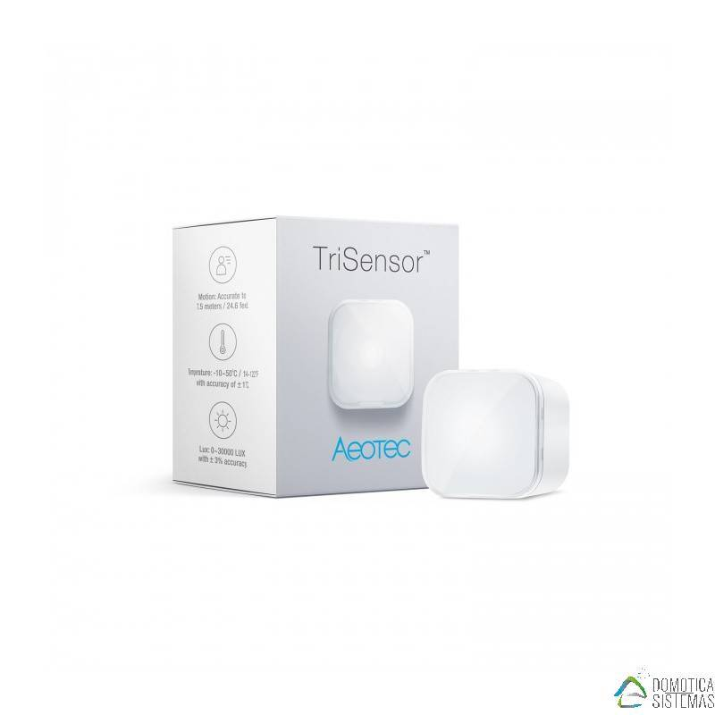 Sensor Aeotec TriSensor multisensor 3 en 1 Z-Wave Plus