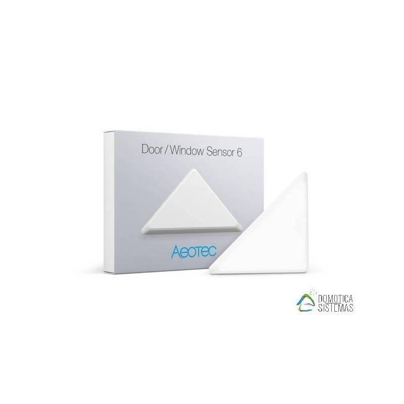 Sensor puertas y ventanas tipo triángulo Aeotec Z-Wave Plus