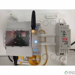 Pasarela universal ZiGate USB-DIN ZigBee para carril DIN