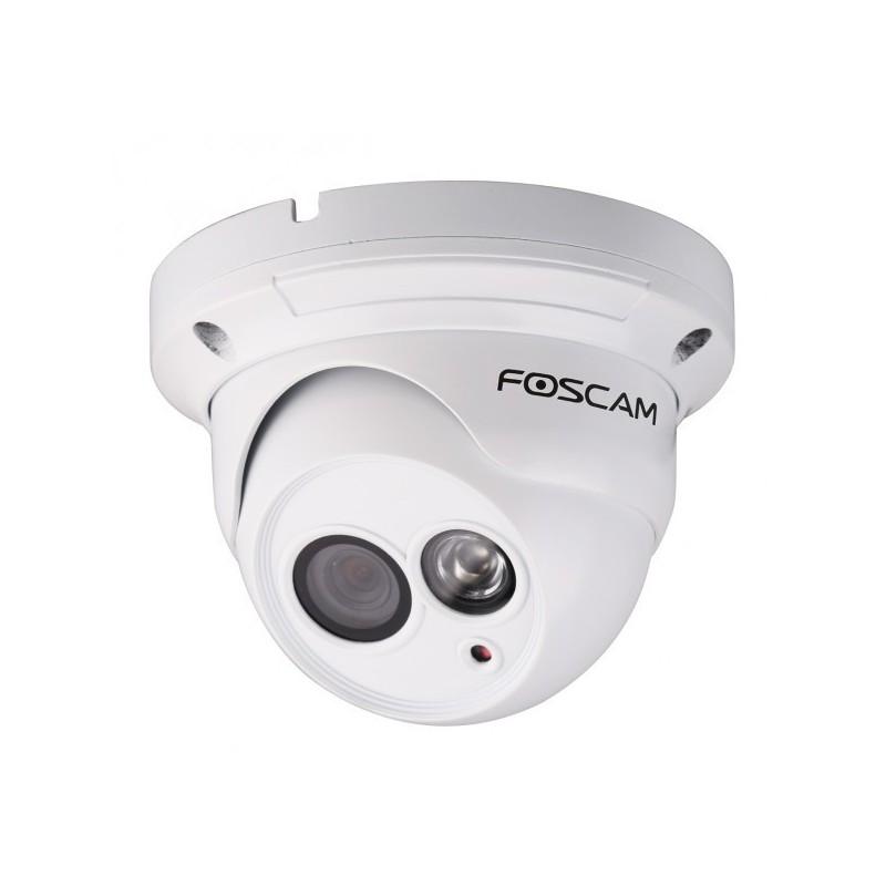 Cámara IP FI9853EP WIFI de interior y exterior Foscam PoE Blanca 1.0 Megapixel