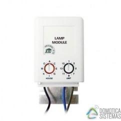Módulo X10 dimmer regulación 1 zona de iluminación para instalación con cables en puntas libres Marmitek . LM12W