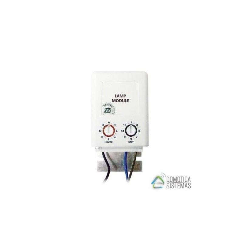 Módulo X10 Para Regular Y Encender-Apagar 1 Zona De Iluminación Para Instalación Con Cables En Puntas Libres. LM12W